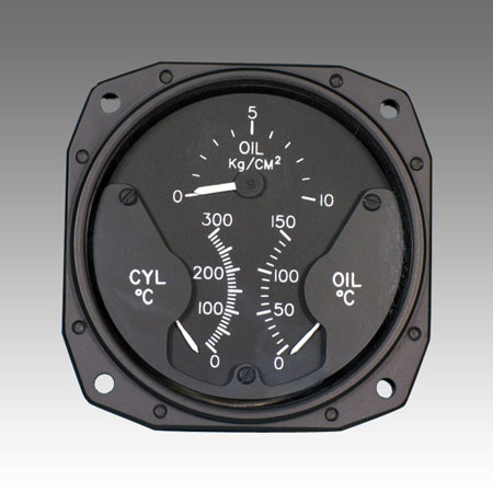 1U378 Multifunction Engine Gauge