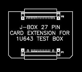27 Pin J-Box Extender Card